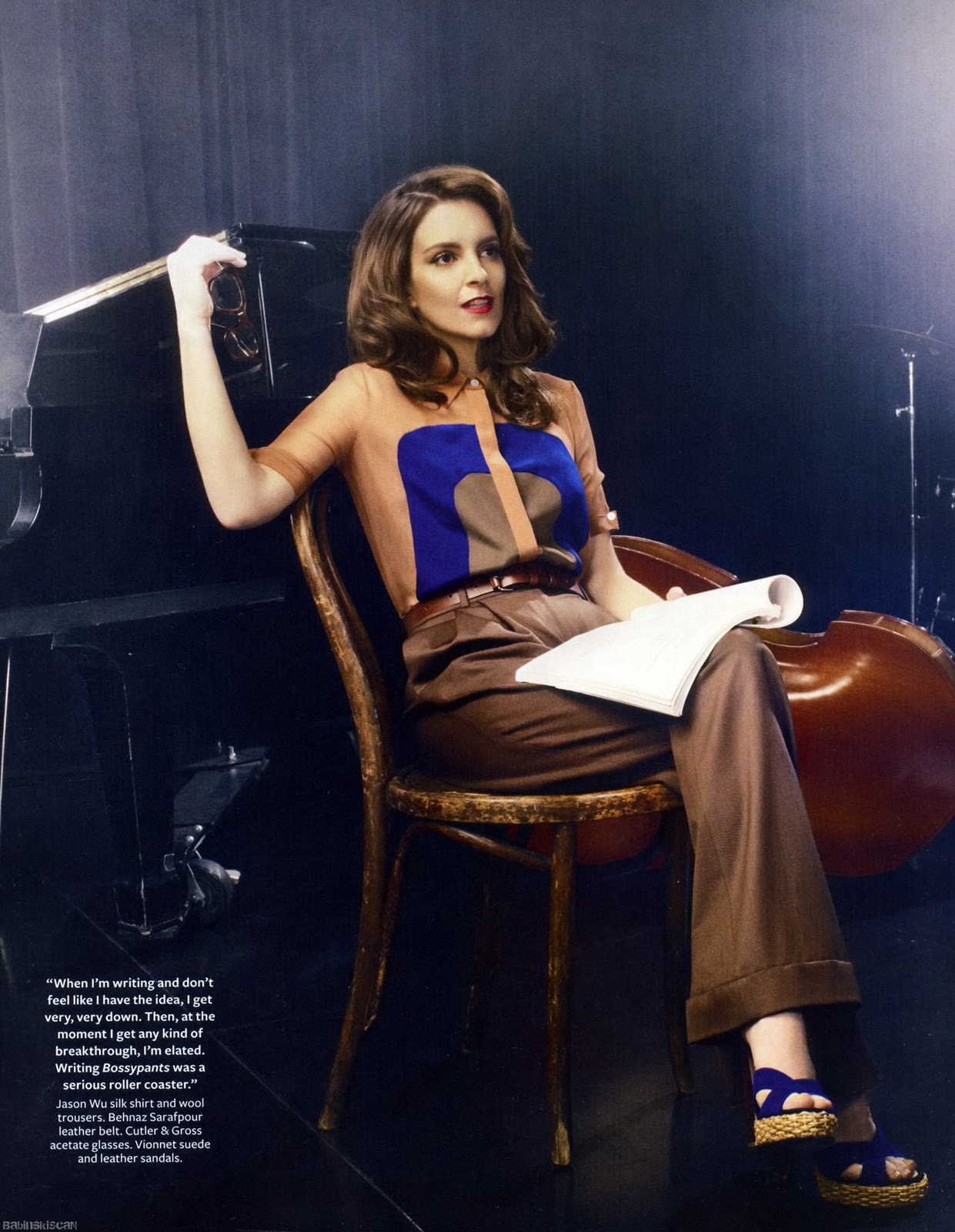all is relative tina fey instyle magazine april 2011