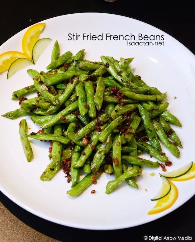 Stir fried French Beans with Minced Garlic