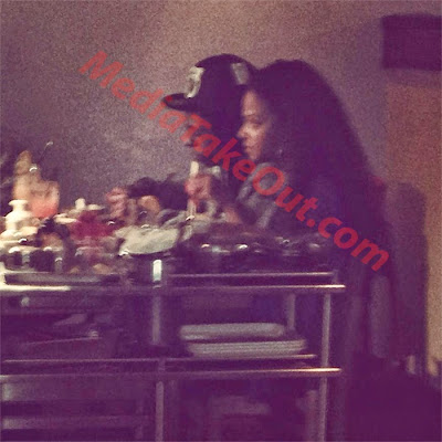 fotos de lil wayne y christina milian cenando