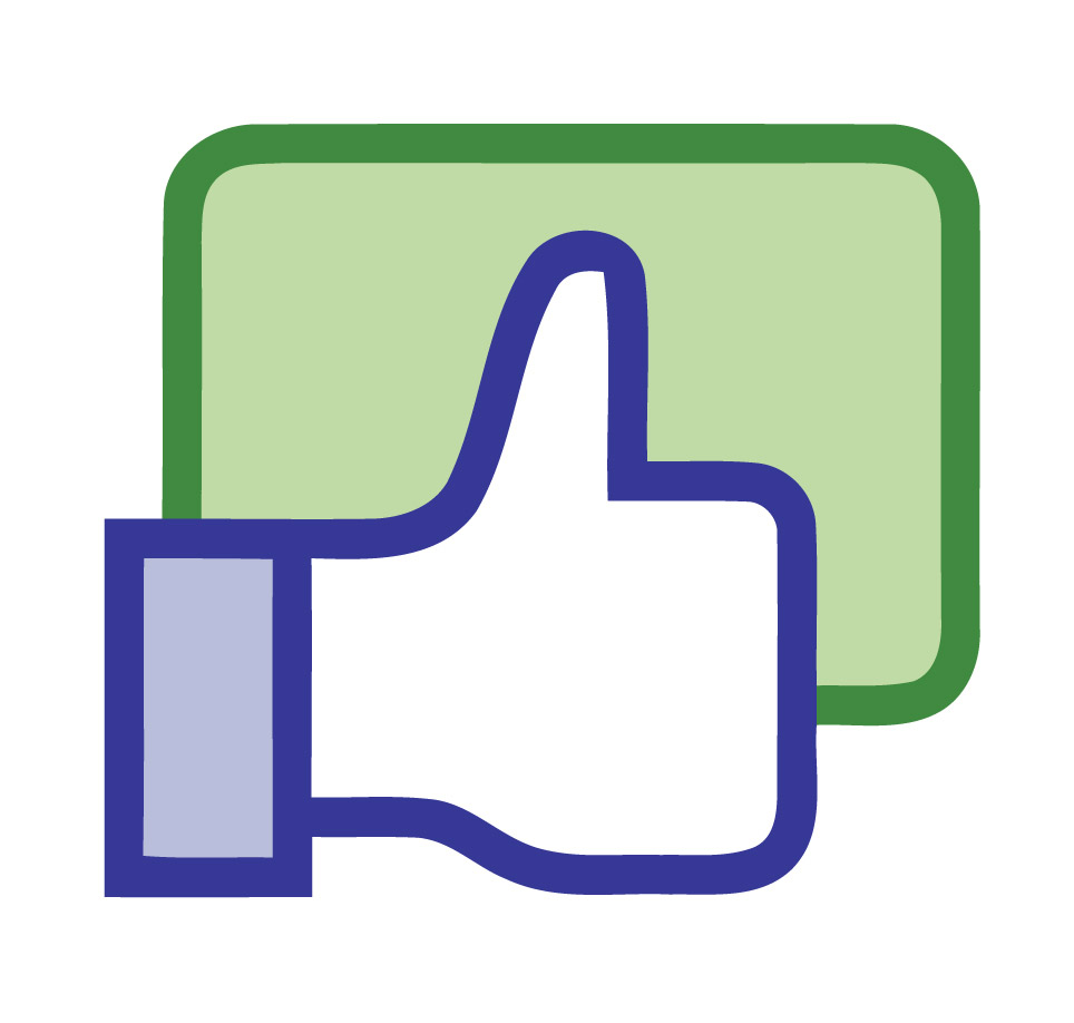 Facebook like icon logo facebook vector facebook logo small twitter