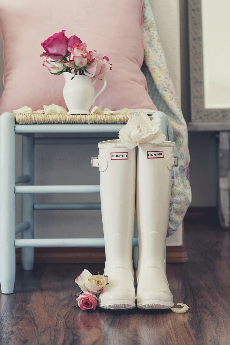 ideas originales para bodas de invierno botas hunter