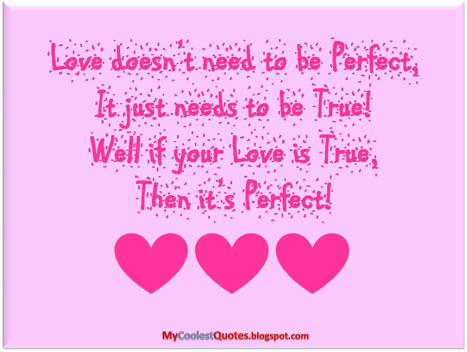 Love Quotes With Images My Coolest Quotes Wanna Know What's The Perfect Love