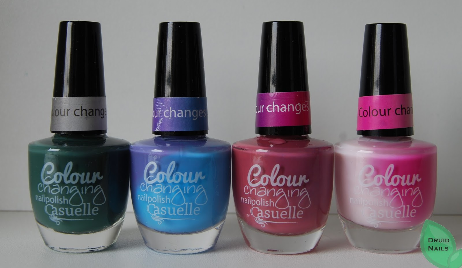 Casuelle Colour Changing Polishes