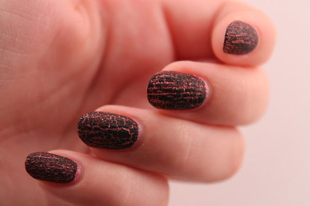 Zoya Miranda and OPI Black Shatter