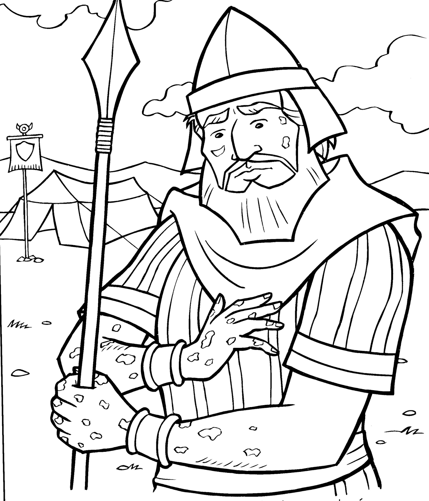 coloring pages dazzling naaman page was healed 200x257. coloring ...