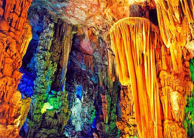 homemade lemon cake reed flute cave guilin