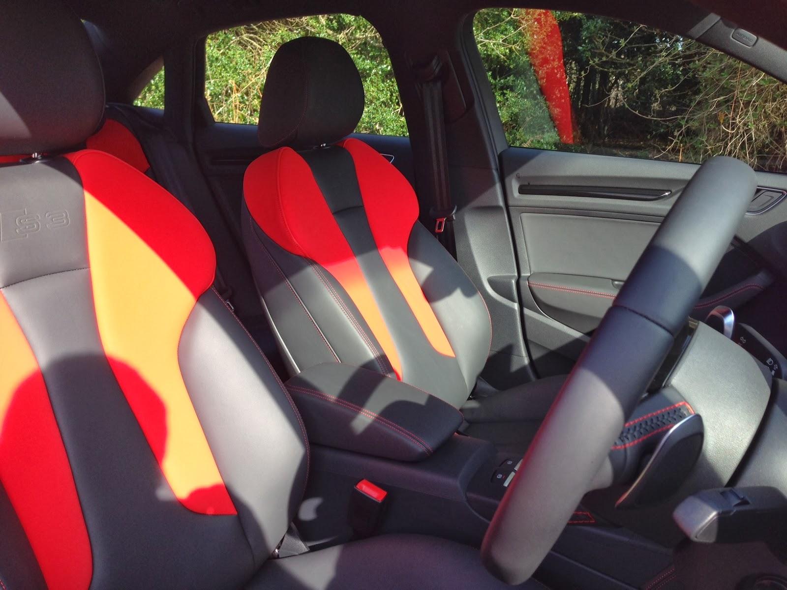 2014 Audi S3 Saloon interior