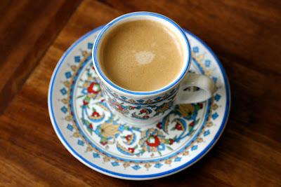 Espresso cupcake cup of espresso