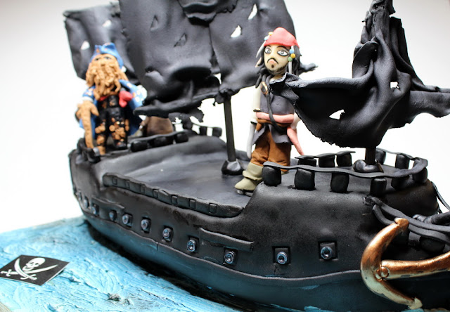 Jack Sparrow Birthday Cake London
