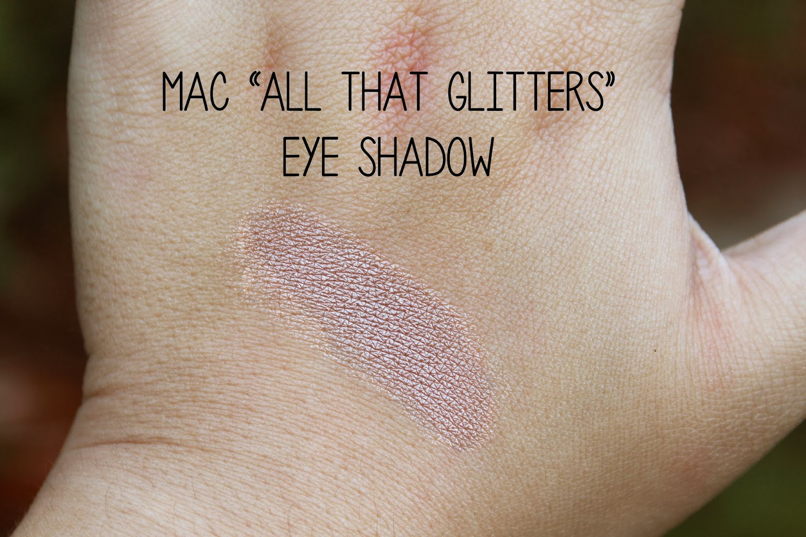 Mac all that glitters dupe urban decay