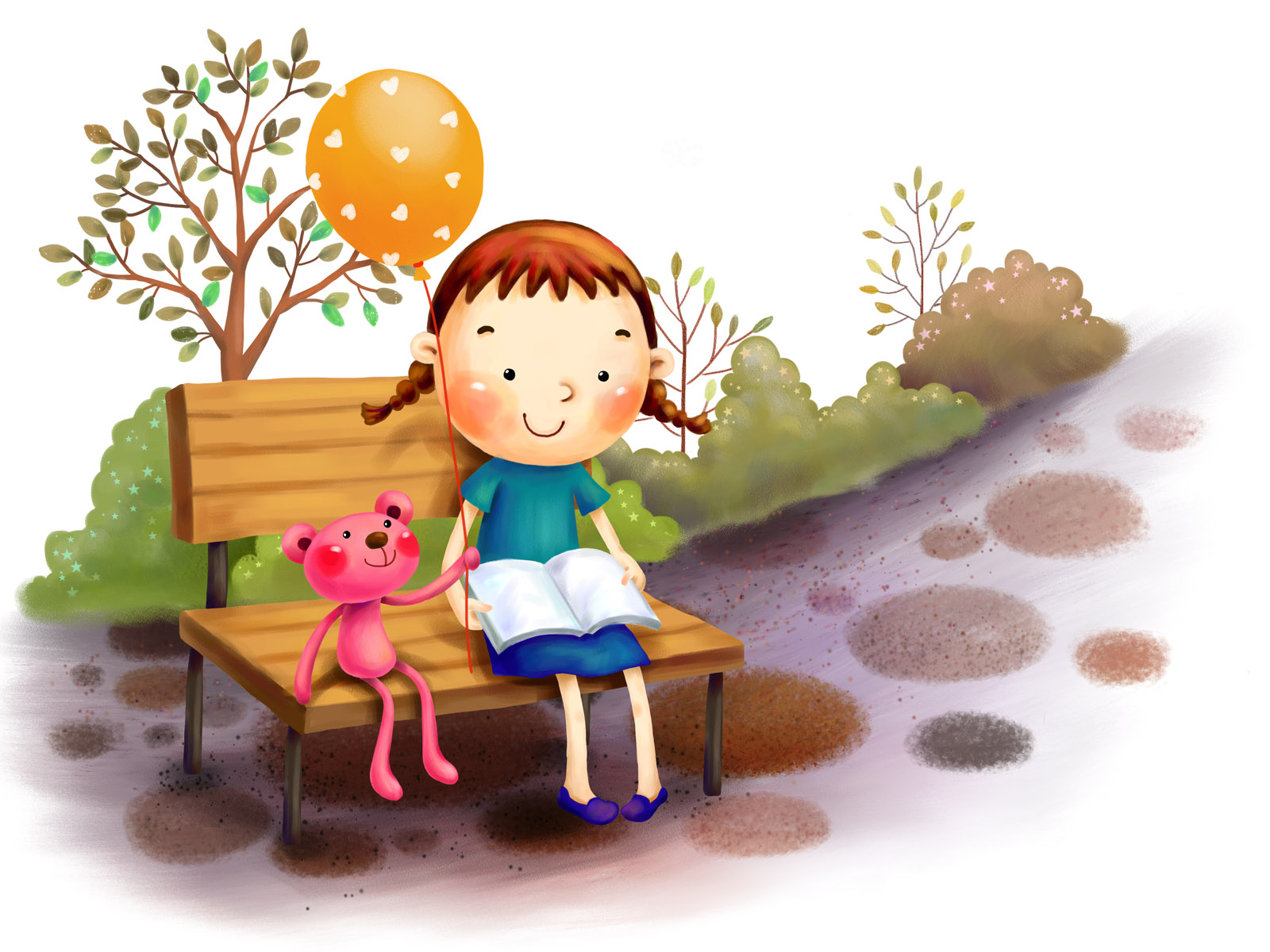 Banco de im genes 40 dibujos para todos los peques feliz for Wallpaper bambini