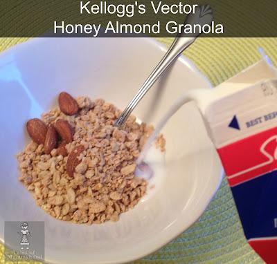 Kellogg's, vector, granola, fuel your summer,