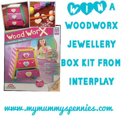 #Win a wood worx Jewellery box kit