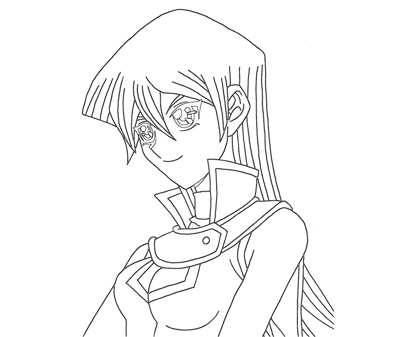 yugioh gx coloring pages - photo#9