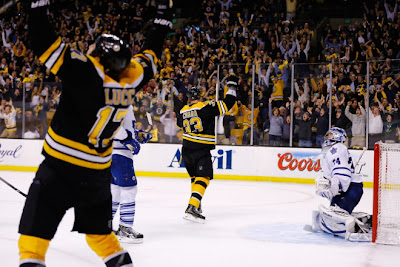 bruins leafs overtime playoffs