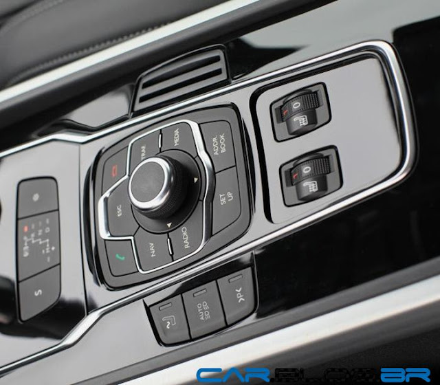 Novo Peugeot 508 2013 i-Drive