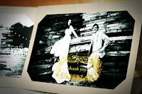 DIY Wedding Thank-You Card