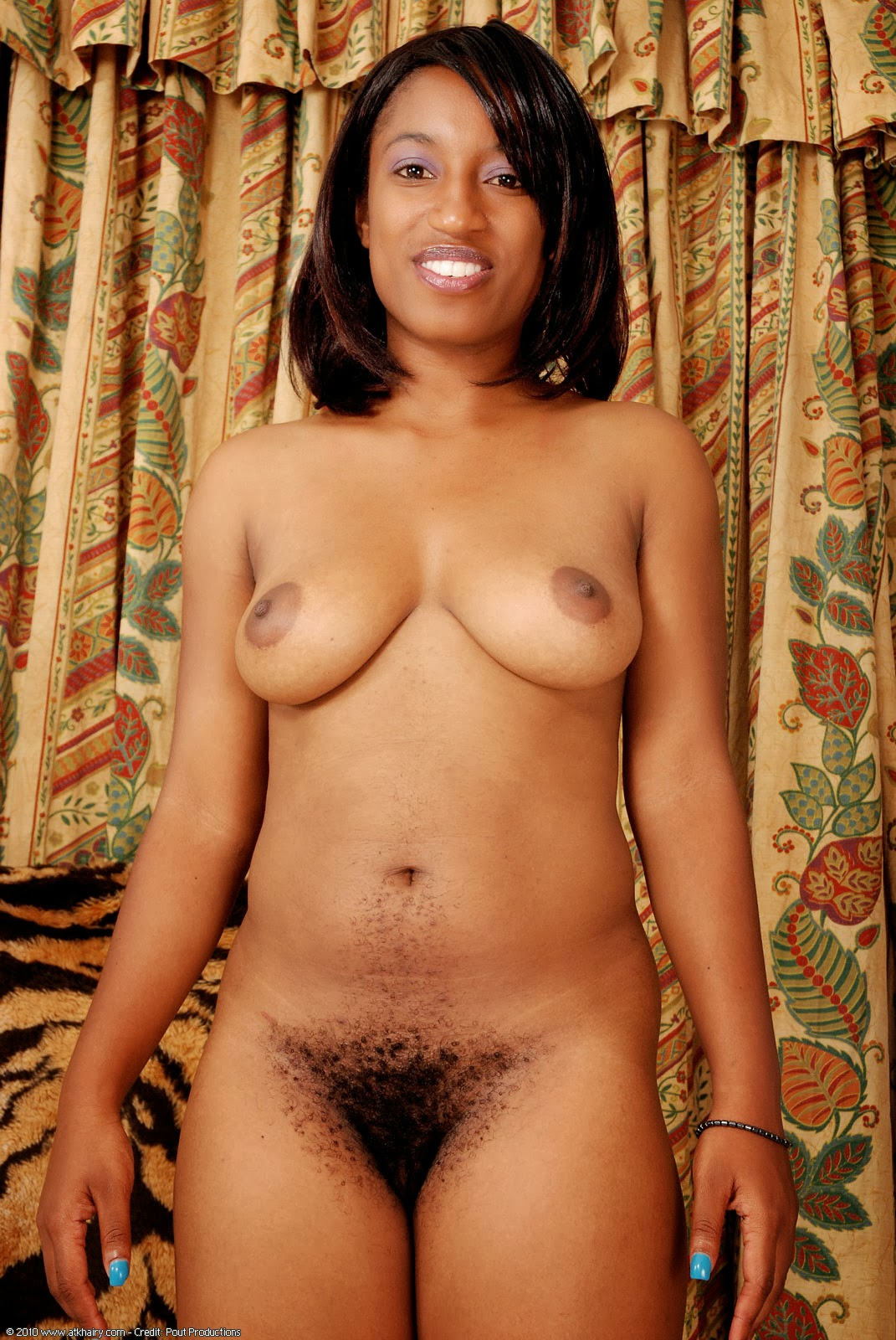 Hairy Black Ebony Girl