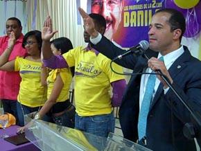 """Lanzan movimiento """"Los Primeros de la 2 con Danilo"""""""