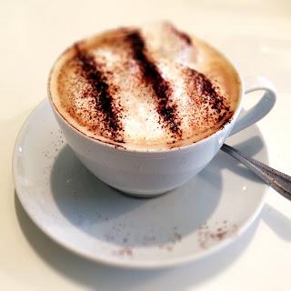 Cappuccino at the French Quarter Café in Portarlington