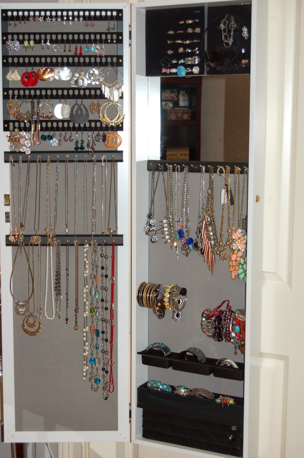 Jewelry Organization and Storage HSN Jewelry Armoire The