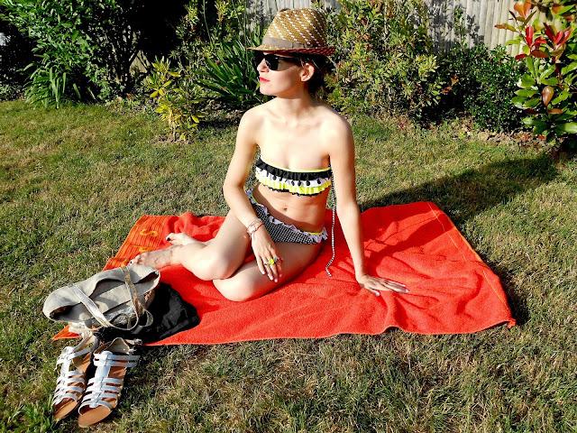 Ootd Blog Mode Fashion Maillot de bain bikini Surania H&M LaRedoute Blogmode fashionblog holidays vacation sun été