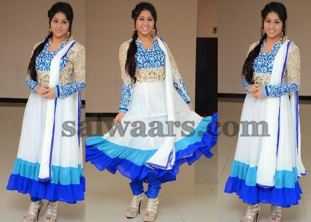 Hamida White Salwar