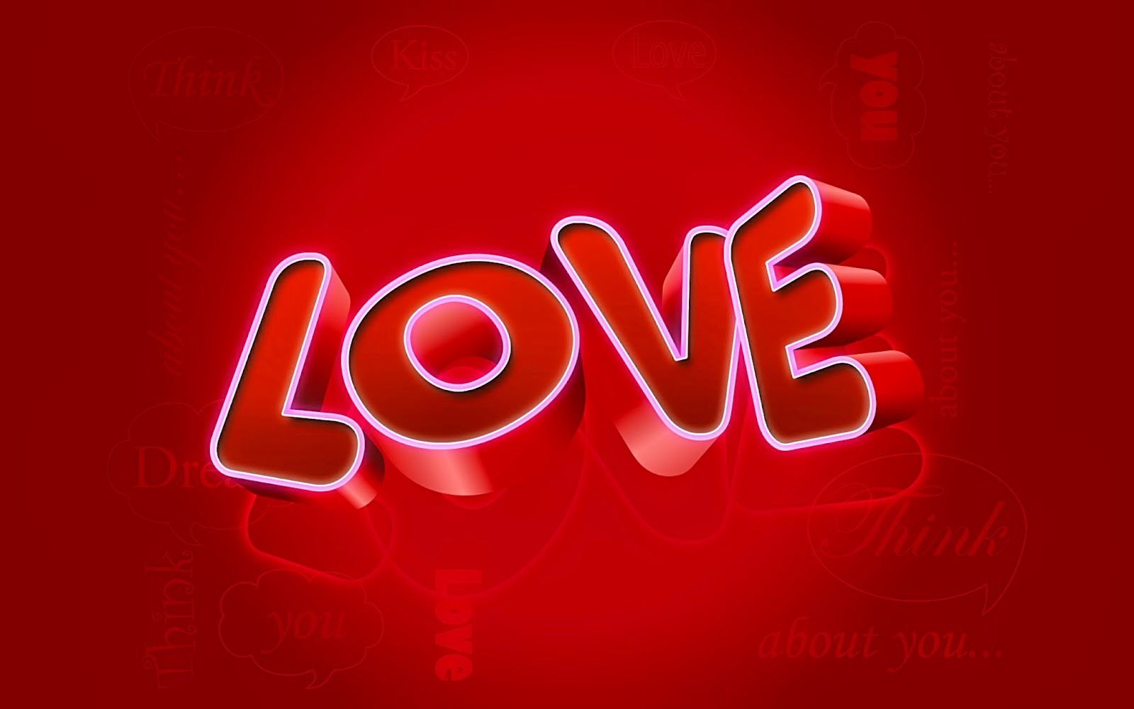 3d Love HD Wallpaper Free