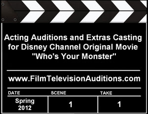 Disney Channel Who's Your Monster Auditions
