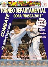 Torneo Departamental de Combate Nasca 2011