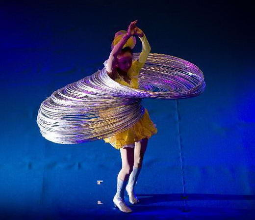 Rekor Dunia, Jin Linlin Memainkan 300 Hola Hops
