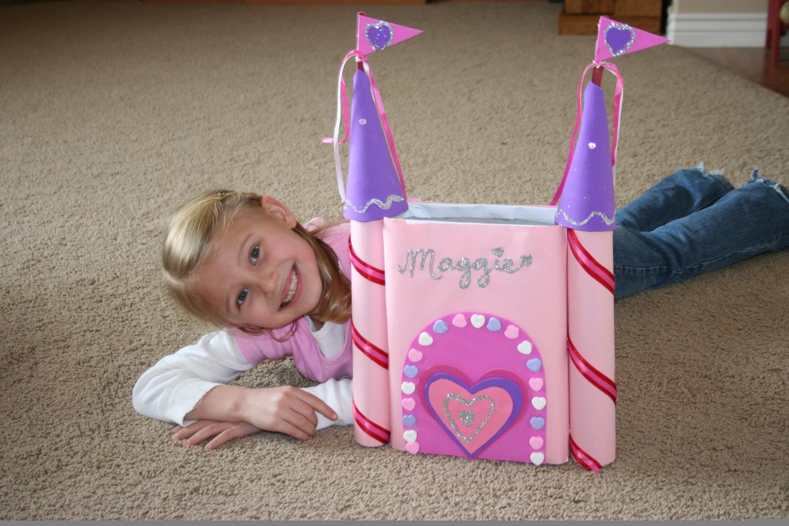 Creative Valentine Box #6   Castle