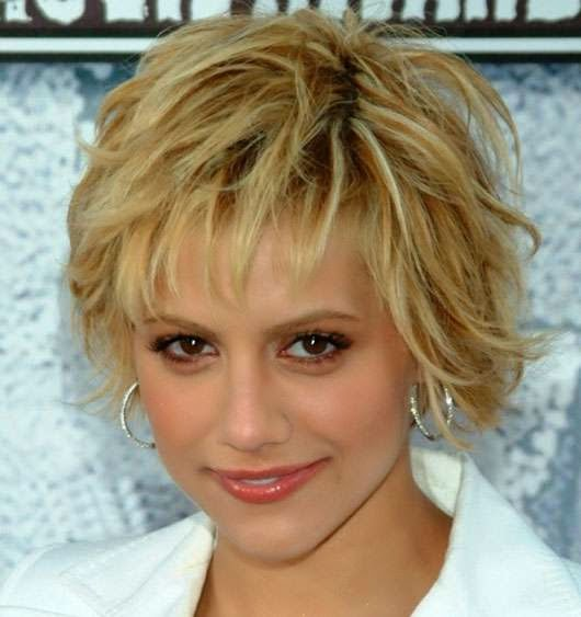Brittany Murphy Short Celebrity Hairstyles
