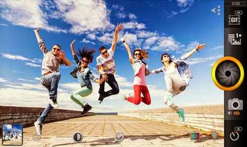 Aplikasi Pengambil Foto Dengan Efek Focus Yang Sangat Cepat untuk Android