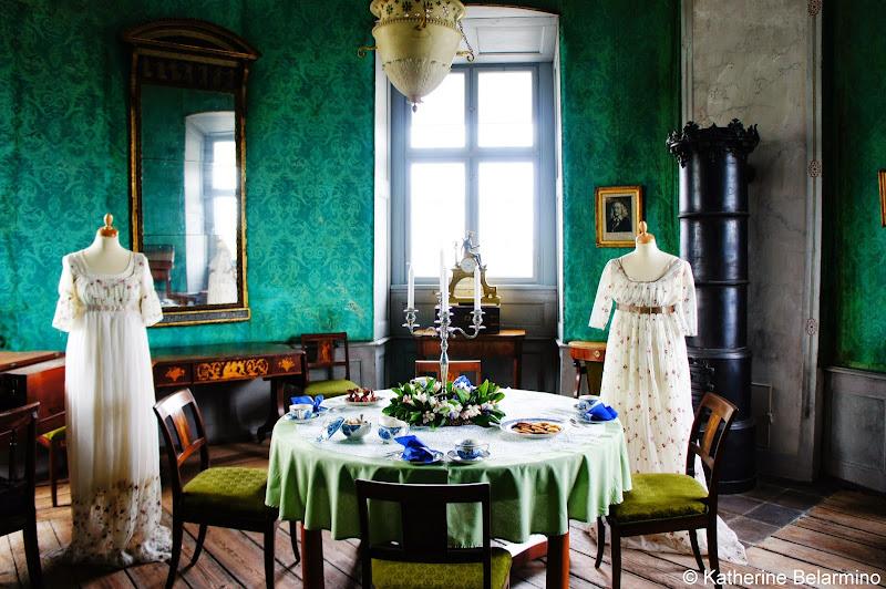 Gammel Estrup Arsenic-Laced Green Room Denmark