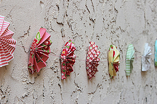 craft fans garland