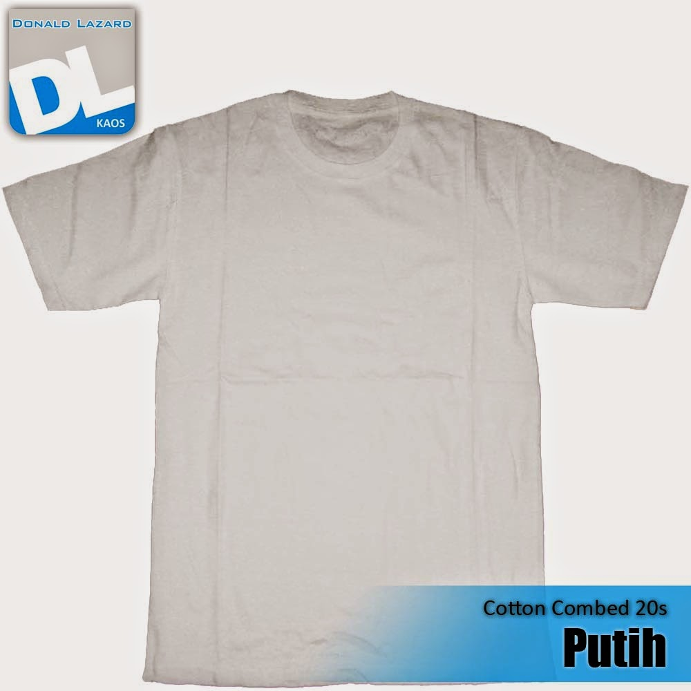 Sablon Warna Kaos Putih