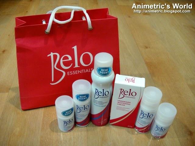 Belo Essentials Whitening Deodorant Review