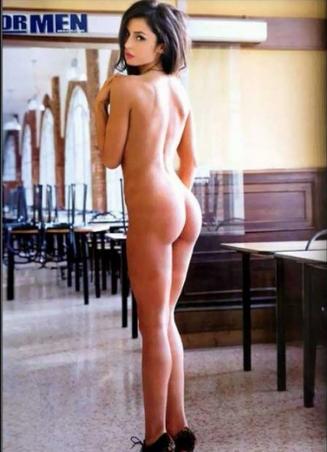 Porno Calendario 2014 Raffaella Fico nuda hot