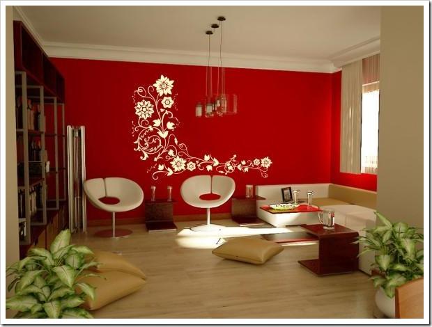 Pinturas de salas bonitas v rias id ias de - Paredes decoradas modernas ...