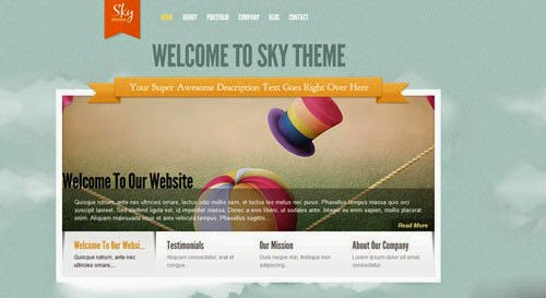 Sky ElegantThemes Wordpress Theme Version 2.1 free