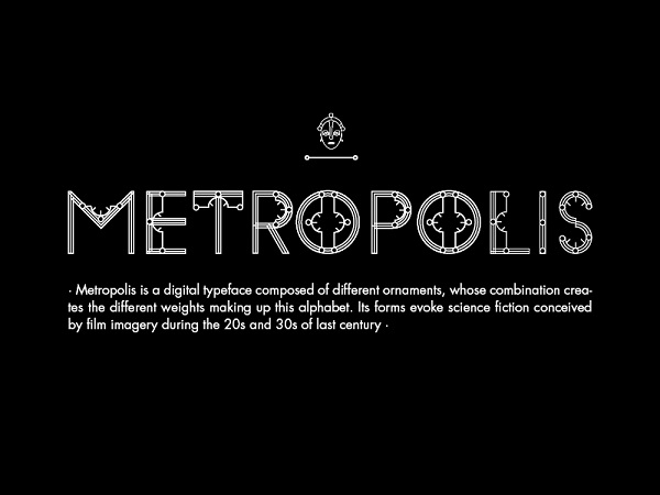 Font Commercial Gratis Terbaru Untuk Desainer Grafis - Metropolis Free Font