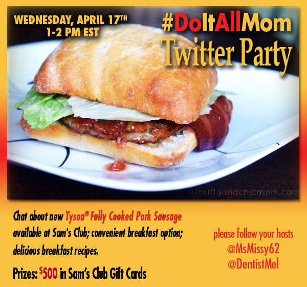 #DoItAllMom Twitter Party