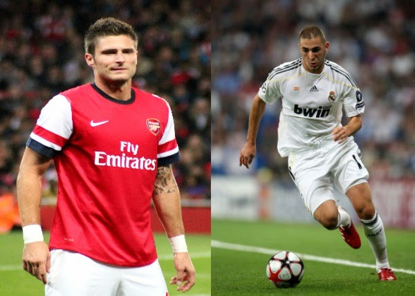 Player Comparison: Giroud vs Benzema