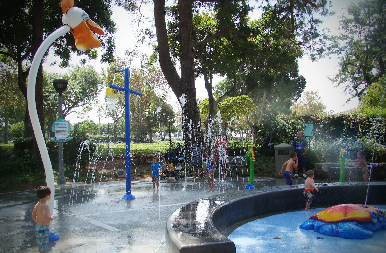 Atlantis Play Center Splash Pad Toddler Trails