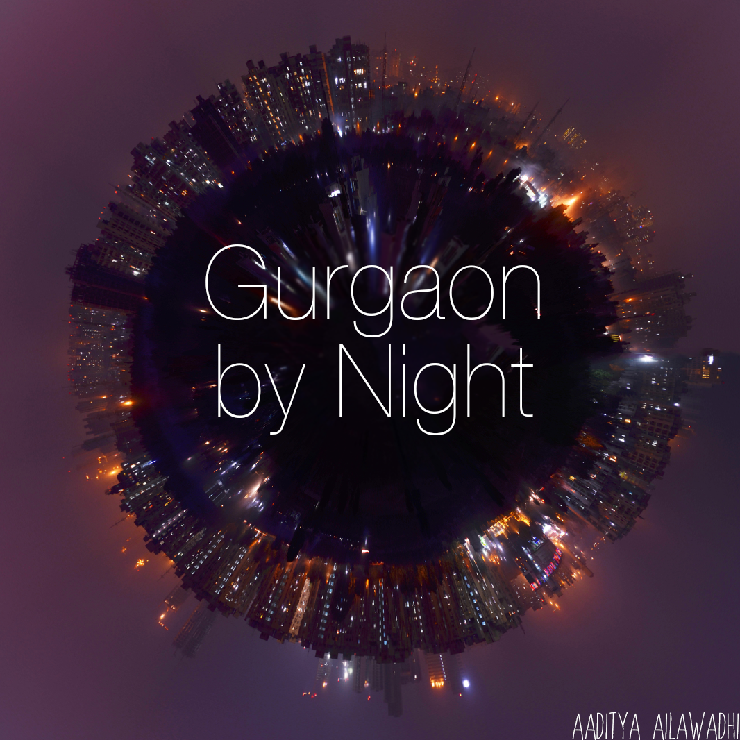 Gurgaon by Night