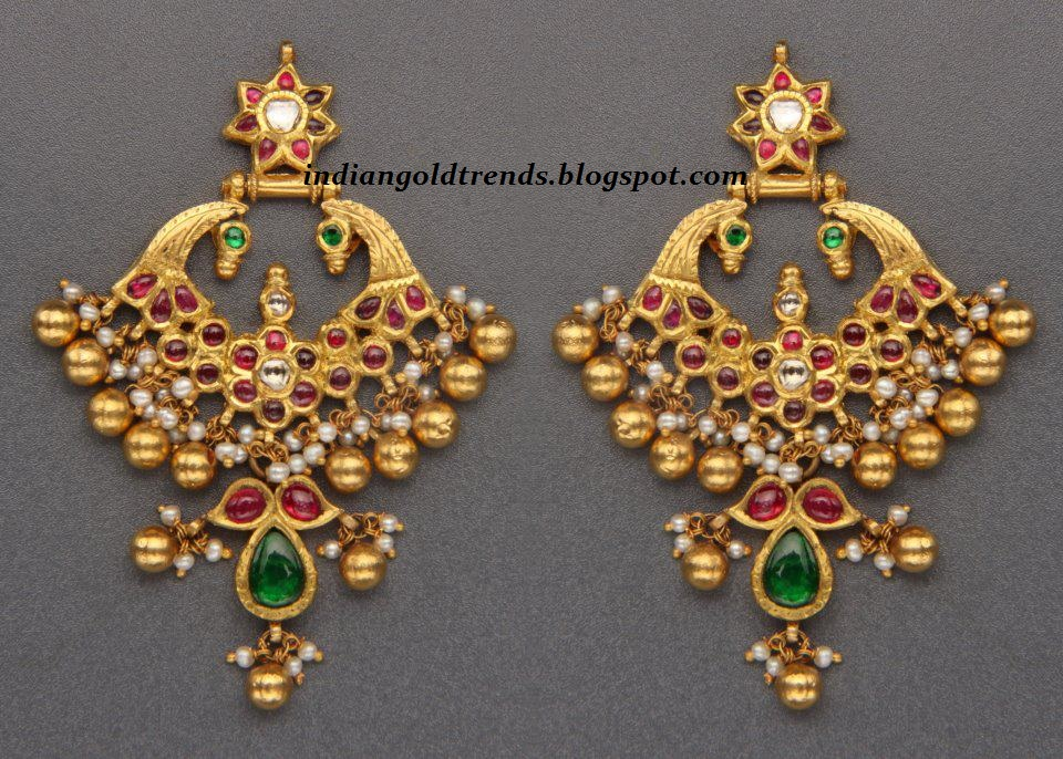 Designer earrings from Hiya Jewellers