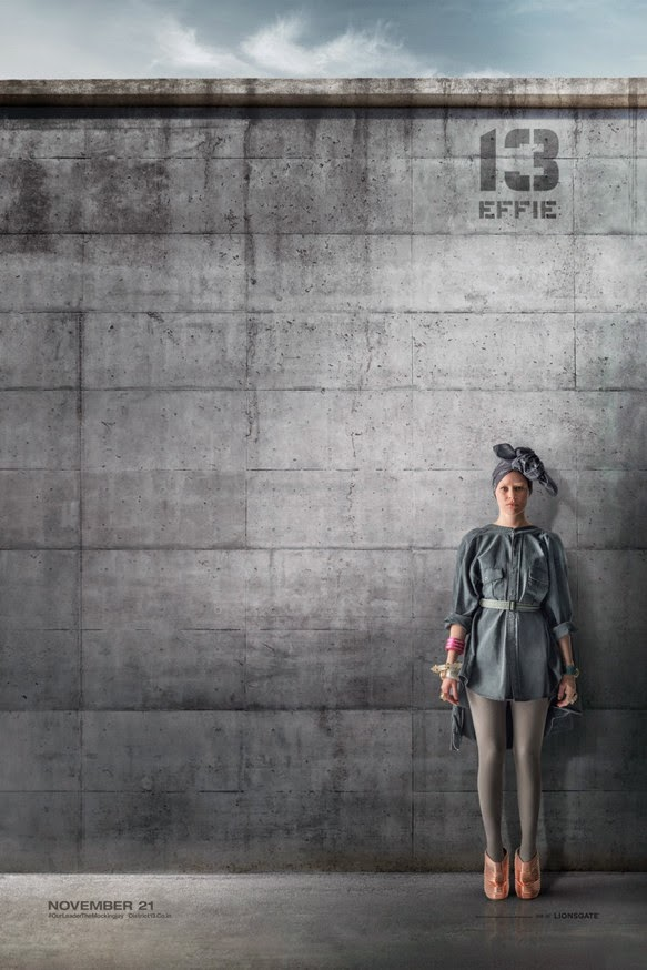 Effie Mockingjay Poster