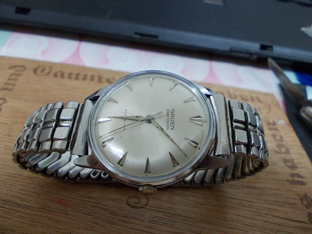 vintage watches gruen autowind rm389. Black Bedroom Furniture Sets. Home Design Ideas