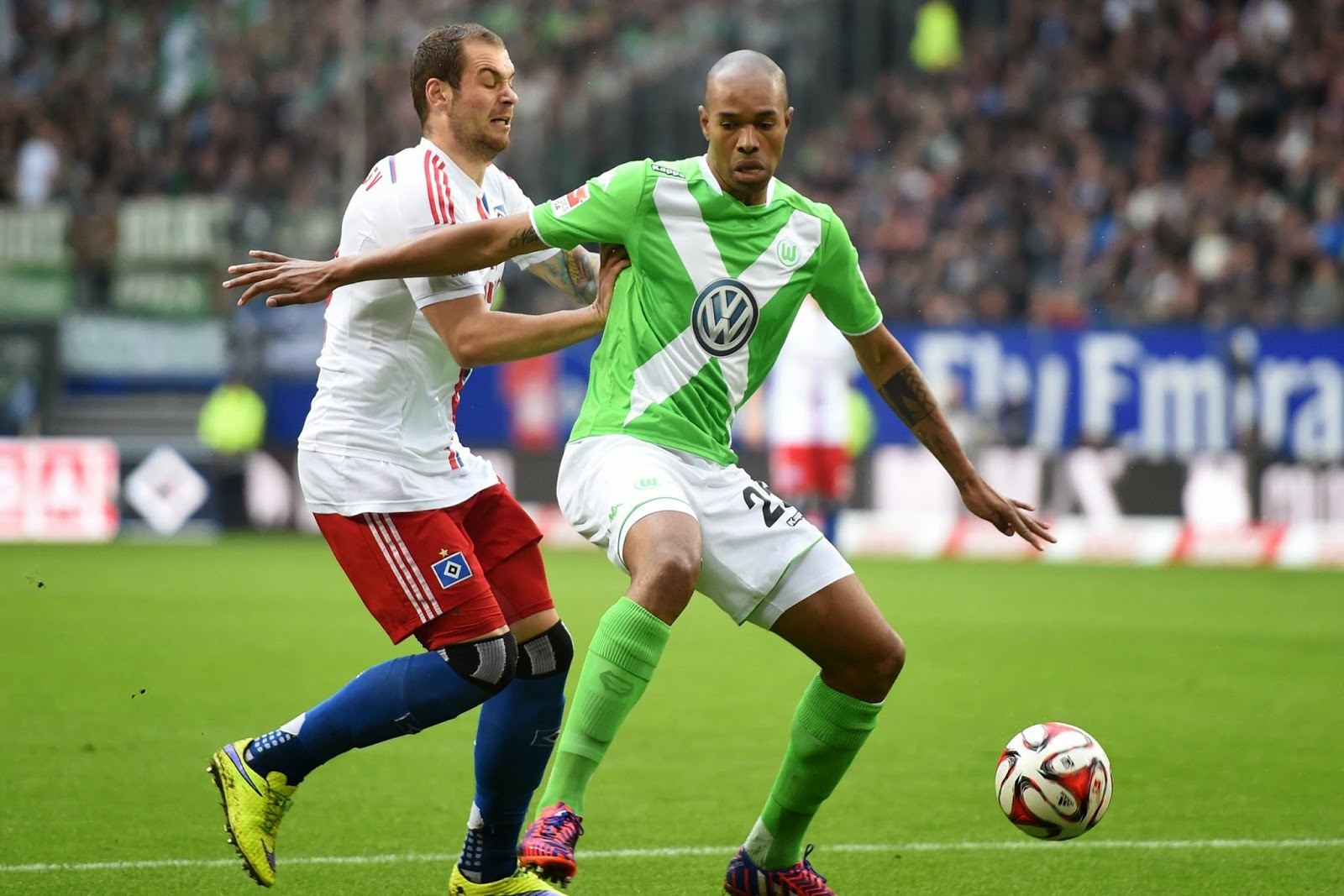 Highlights Hamburg 0 – 2 Wolfsburg (Bundesliga)